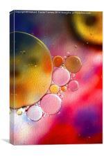 Bubbles Paint, Canvas Print