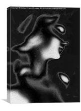 Abstract Female, Canvas Print