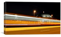 Night Train, Canvas Print