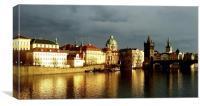 Prague Old Town, Canvas Print
