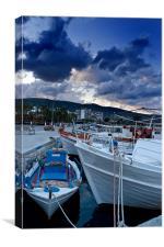 Dawn Greece, Canvas Print