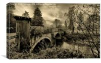 The Bridge , Canvas Print