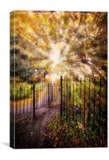 The Kissing Gate, Canvas Print