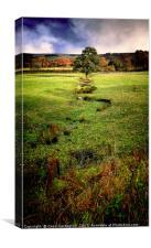 Autumn Landscape, Canvas Print