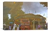 Magical Carousel, Canvas Print