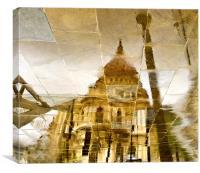 St Pauls, Canvas Print