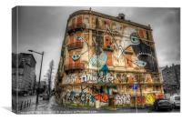 Street Art, Canvas Print
