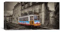 Carris Tram 574 Lisbon, Canvas Print