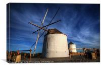 Silent Windmills, Canvas Print