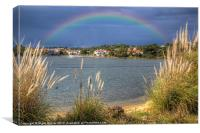 Rainbow Lake, Canvas Print
