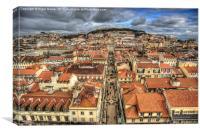 Streets Of Lisbon, Canvas Print
