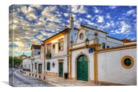 Streets Of Faro, Canvas Print