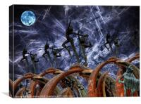 Dancing In The Moonlight, Canvas Print