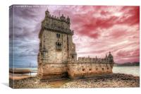 Tower of Belem, Canvas Print