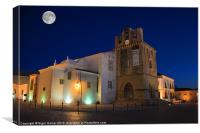 SE Cathedral at Night, Canvas Print