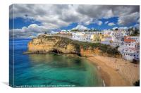 Carvoeiro Algarve Portugal, Canvas Print