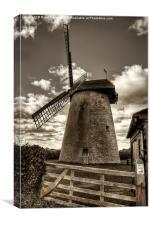 Bembridge Windmill, Canvas Print