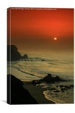 Castelejo Beach Sunset, Canvas Print