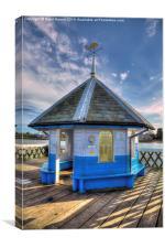 Yarmouth Pier Rotunda, Canvas Print