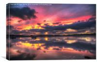 Bembridge Harbour, Canvas Print