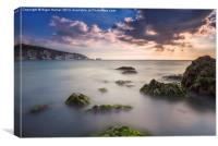 Alum Bay and The Needles, Canvas Print