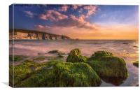 Alum Bay and The Needles #2, Canvas Print
