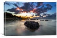 Woodside Retreat Sunset, Canvas Print