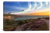 Blades Over The Needles, Canvas Print
