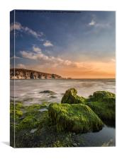 The Needles and Alum Bay, Canvas Print