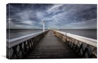 Yarmouth Pier, Canvas Print