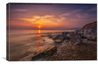 Hanover Point Sunset, Canvas Print
