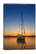 Southerly Sunset, Canvas Print