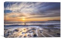 Surfers Paradise, Canvas Print