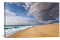 Desert Island Beach, Canvas Print