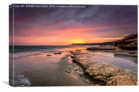 Foreland Sunset, Canvas Print