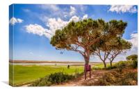 Algarve Golf, Canvas Print