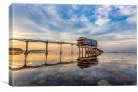Evening At Bembridge Lifeboat Station, Canvas Print