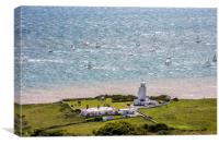St Catherines Point, Canvas Print