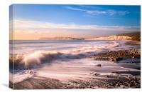 Compton Bay Beach 3, Canvas Print