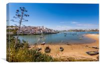 Ferragudo Algarve Portugal, Canvas Print