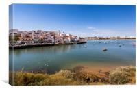 Ferragudo Algarve Portugal, Canvas Print