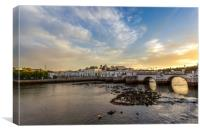 Tavira Algarve Portugal, Canvas Print