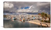 Lagos Marina Algarve Portugal, Canvas Print
