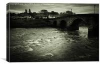 River Ribble, Canvas Print
