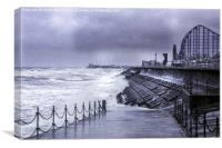 Blackpool, Canvas Print