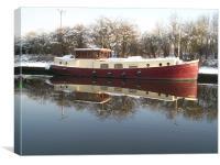 boat, Canvas Print