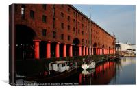 Albert Dock Liverpool, Canvas Print