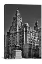 Royal Liver Building Liverpool, Canvas Print