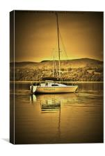 English Lake District, Canvas Print