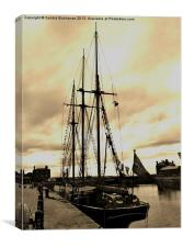 Tall Ship Albert Dock Liverpool, Canvas Print
